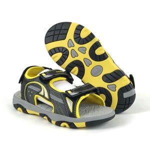 Kamik Youth Boys Unisex Yellow Flounder Sandals